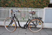 Rad Fahrrad Tiefeinstieg Spezialrad Damenrad