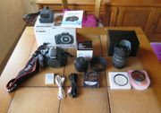 Canon EOS 600D 2 Objektive