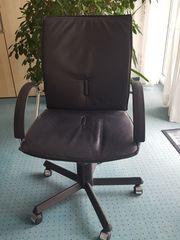Bürosessel Leder fast neu