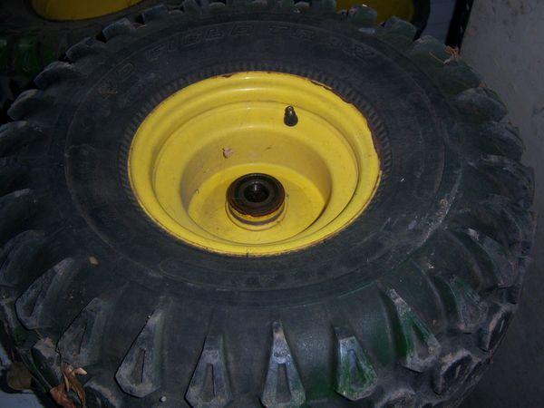 Rädersatz für John Deere Gator