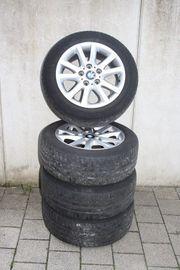BMW Alu Sommerkompletträder 205 55