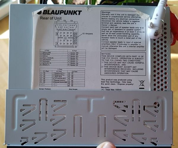 Blaupunkt Madrid 210 Autoradio CD