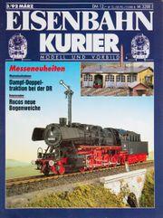 Eisenbahn Kurier-Modell und Vorbild 3