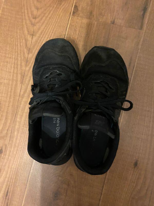 Abgetragen Schuher aller Art