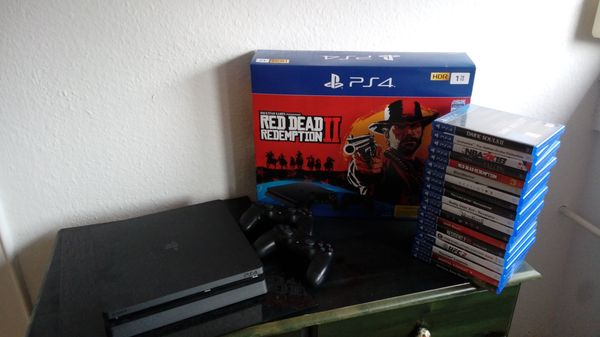 PS4 Slim 1 TB RDR2