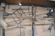 Garten- Balkon-Deko div landwirtsch Geräte