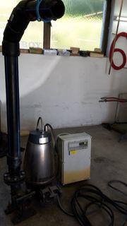 Wasserpumpe bzw Abwasserpumpe