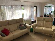Echtleder Sofas Couch 3-Sitzer 2-Sitzer