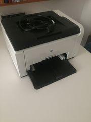 HP Farblaserdrucker CP1025nw ,