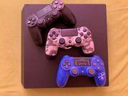 PS4 Pro mit 17 Spielen