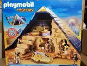 Playmobil 5387-Grabräuber-Lager 5386-Pyramide des Pharaos