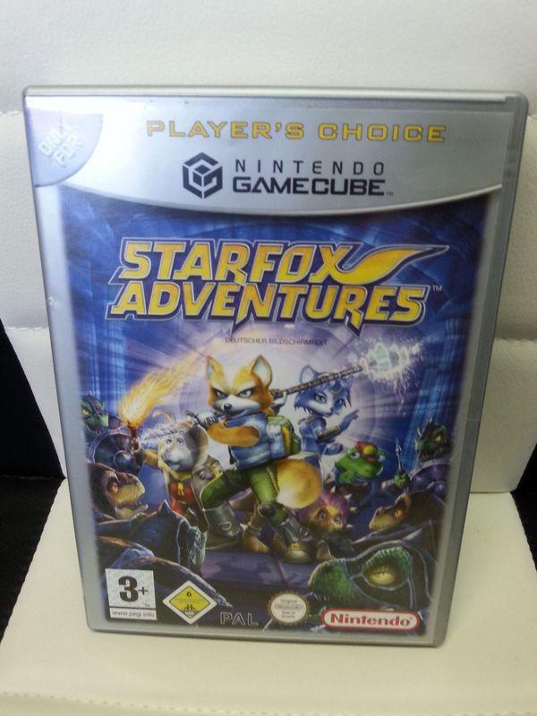 Starfox Adventures Nintendo Gamecube