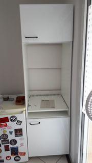 Metod Einbau Küchenschrank Hochglanzweiß