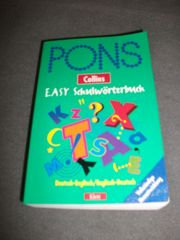 PONS Schulwörterbücher Englisch-Deutsch Deutsch-Englisch