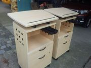 Pult Büroschrank höhenverstellbar 2 Stück