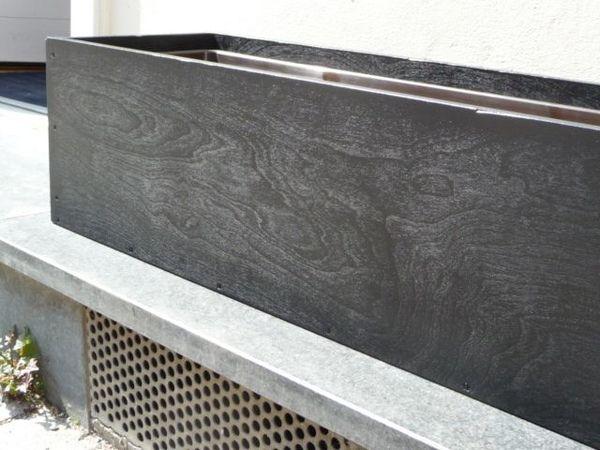 sch ne schlichte pflanz bzw blumenk sten schreinerarbeit nach architektenentwurf in m nchen. Black Bedroom Furniture Sets. Home Design Ideas