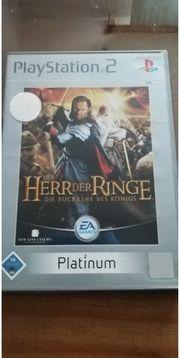 PS 2 Spiel Herr der