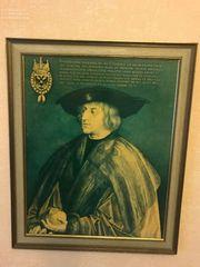 Kaiser Maximilian I Gemäldereproduktion Nr