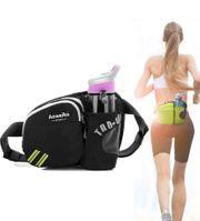 Aoweika Hüfttasche mit Wasserflaschenhalter