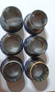 Teelichthalter - Gläser - mit Hundertwasser Motiven