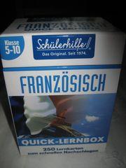 Quick-Lernbox Französisch Klasse 5-10 Neu