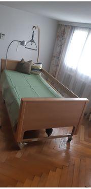 Pflegebett Arminia aus hochwertigen Materialien