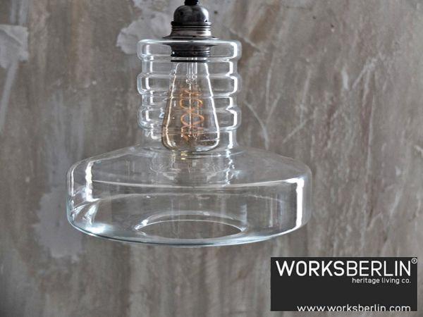 70er Jahre Manufakturlampe - worksberlin com