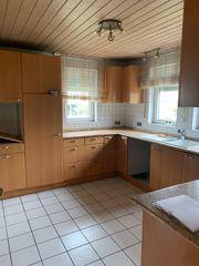 Küche mit Liebherr Kühlschrank und