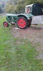Landwirtschaftliche Transportmulde