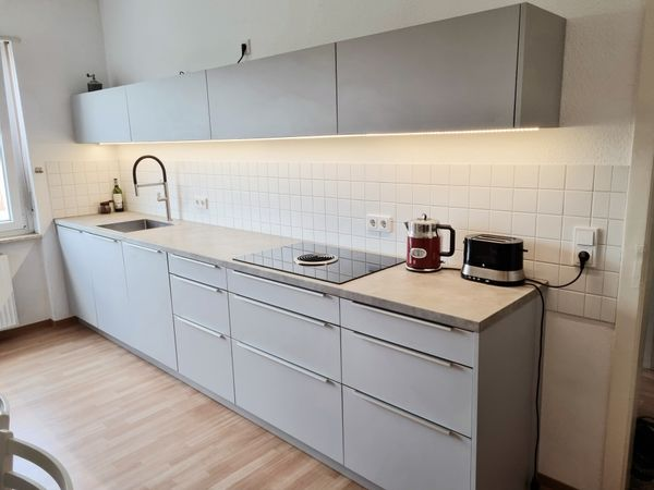 Design-Einbauküche