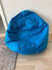Sitzsack - blau