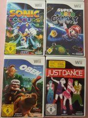 Wii Spiele Paket 4 Spiele