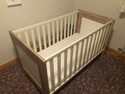 Babybett Kinderbett 70x140cm mit BRETEX