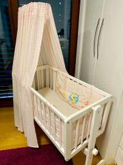 Baby Wiege Stubenwagen Bett mit