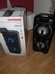 Bluetooth Lautsprecher von Telefunken mit