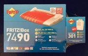 Fritzbox 7490 Router DECT301 3560