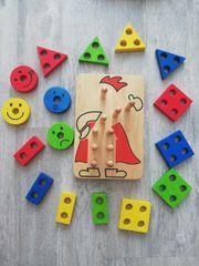 Holz-Stapel-Spielzeug Held