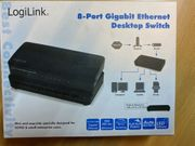 Ethernet Switch Gigabit 8-Port LogoLink