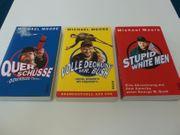 Michael Moore - 3 Taschenbücher - guter