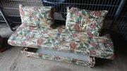 Sofa ausziehbar mit 2 Sesseln