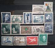 Österreich 1951 - 1959 gestempelt 16