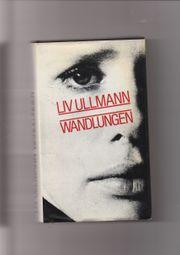 Liv Ullmann Buch Wandlungen
