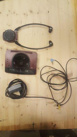 Funk Fernseh Kopfhörer Sennheiser für Gehör geschadigte