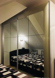 Schlafzimmer Schiebeschrank mit Bett