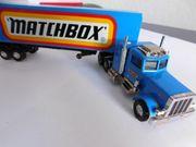 Modellauto Matchbox Peterbilt Truck mit