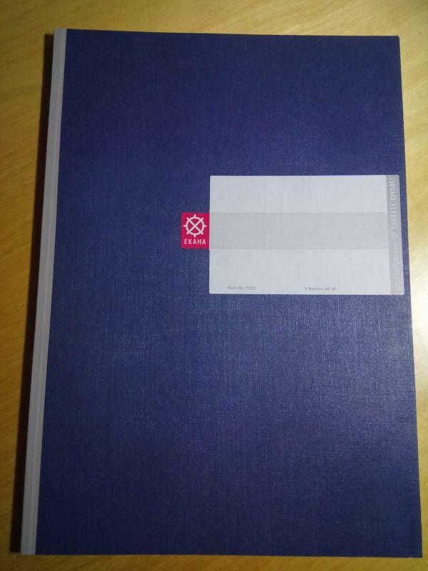 Spaltenbuch 3 Spalten