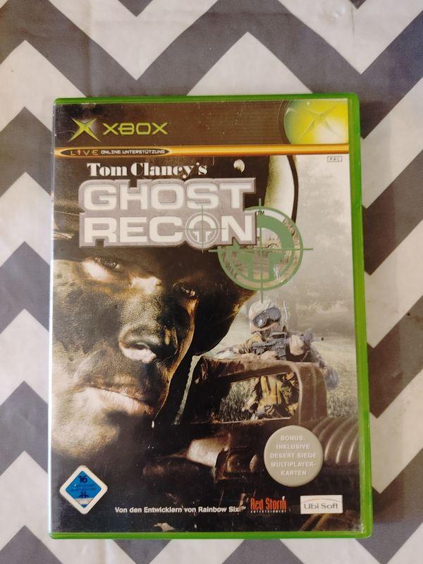 Xbox Ghost Recon Spiele Konsolen