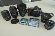 Nikon D 610 mit FÜNF