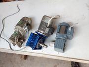 Elektromotoren mit Getriebe