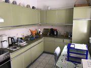 Küche inkl Kühlschrank und Herd